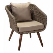 Кресло Куба из ротанга