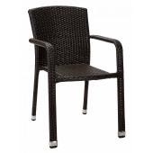 Кресло Борнео D из ротанга