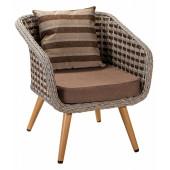 Кресло Кюрасао из ротанга
