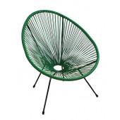Кресло Acapulco green из ротанга