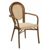 Кресло Франция из ротанга