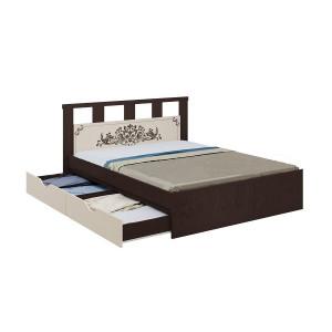 Кровать Жасмин с ящиками 160