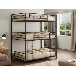 Трехъярусная кровать 4С Эверест (металл)