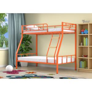 Двухъярусная кровать 4С РАДУГА (металл)