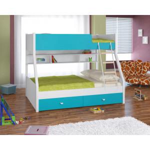 Двухъярусная кровать 4С Golden Kids3