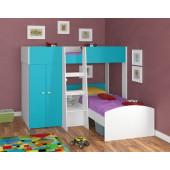 Двухъярусная кровать 4С Golden Kids4