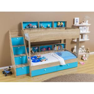 Двухъярусная кровать 4С Golden Kids10