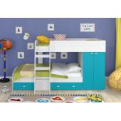 Двухъярусная кровать 4С Golden Kids2