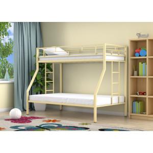 Двухъярусная кровать 4С МИЛАН (металл)