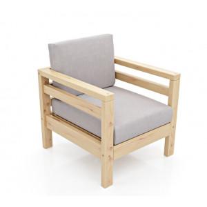 Кресло AnderSon Домино Ash/Grey