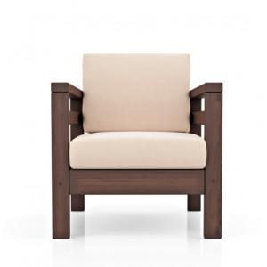 Кресло AnderSon Домино Ivory/Denim