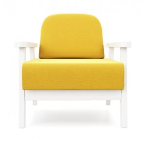 Кресло AnderSon Флори желтый