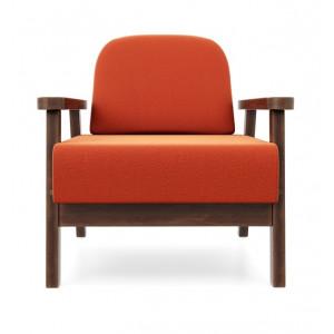 Кресло AnderSon Флори оранжевый