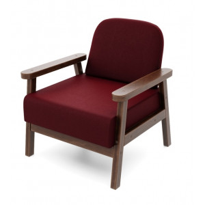 Кресло AnderSon Флори красный