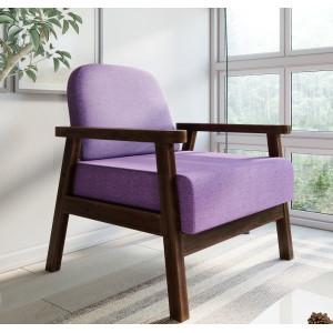 Кресло AnderSon Флори фиолетовый