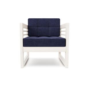 Кресло AnderSon Сега белый-синий