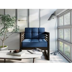 Кресло AnderSon Сега венге-синий