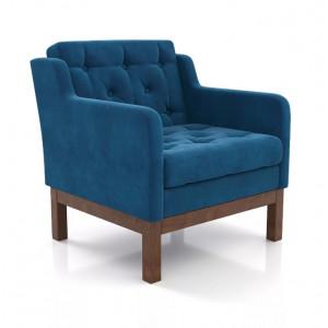 Кресло AnderSon Айверс синий