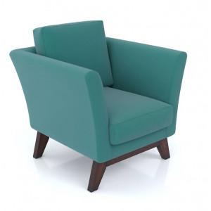 Кресло AnderSon Дублин бирюзовый