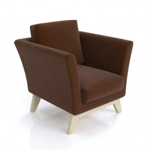Кресло AnderSon Дублин коричневый