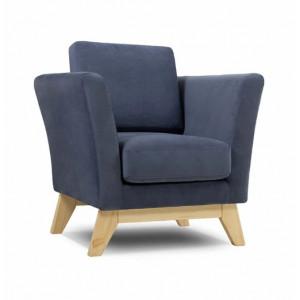 Кресло AnderSon Дублин серый