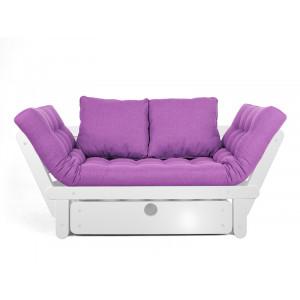 Кушетка AnderSon Сламбер BOX с ящиком фиолетовый
