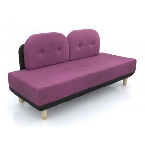 Диван AnderSon Торли рогожка фиолетовый