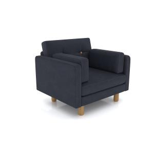 Кресло AnderSon Ингвар темно-серый