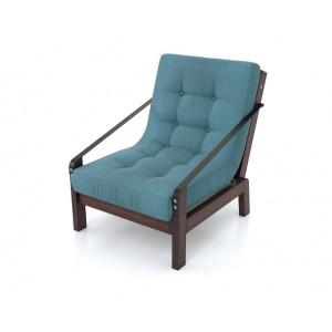 Кресло AnderSon Локи Textile голубое