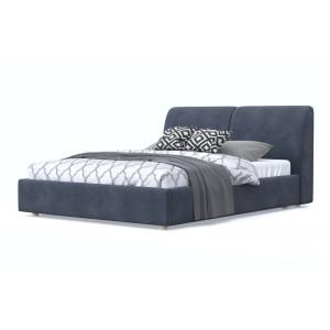 Кровать AnderSon Бекка серый