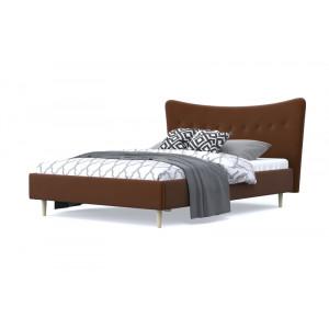 Кровать AnderSon Финна темно-коричневый