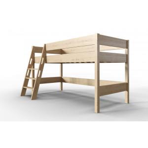 Кровать чердак детская AnderSon Линда сосна