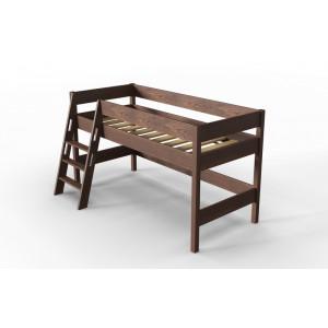 Кровать чердак детская AnderSon Линда орех