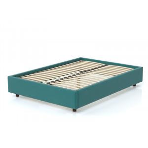 Кровать AnderSon SleepBox без спинки бирюзовый