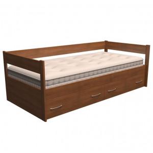 Кровать тахта Dreamline с ящиками бук