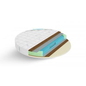 Круглый матрас Lonax Round Cocos-Medium S1000