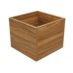 Полка-ящик Куб 1 Hyper (полисандр)