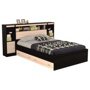 Кровать Виктория с блоками и тумбами, ящиками