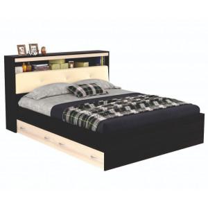 Кровать Виктория ЭКО-П  с блоком и ящиками