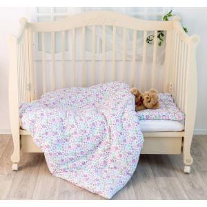 Комплект Natures BaBy Li-Ly  (одеяло+подушка) Горошек