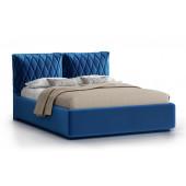 Кровать Nuvola Celeste velutto 26