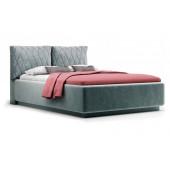 Кровать Nuvola Celeste velutto 32