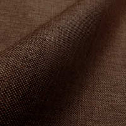 Рогожка коричневый