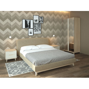 Модульная спальня Сканди-4