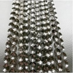Гвоздевой молдинг серебро