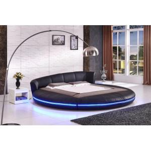 Кровать Морти круглая с подсветкой