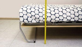 Как сделать кровать выше и поднять ее над полом