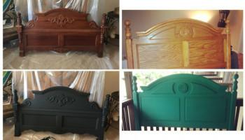 Как перекрасить кровать самостоятельно