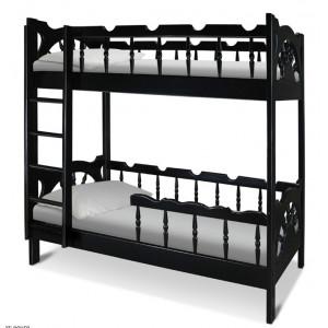 Двухъярусная детская кровать Шале Штурвал