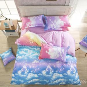 Постельное белье сатин Design Marshmallow Cloud